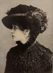 Bettini Eleonora Duse in Odette 1885 circa Roma Biblioteca e Museo Teatrale del Burcardo