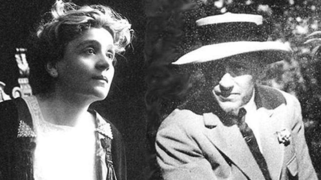 Eleonora Duse e Gabriele D'Annunzio Link web
