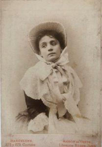 Eleonora Duse in Pamela nubile 1890 circa Roma Biblioteca e Museo Teatrale del Burcardo