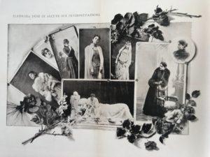 Eleonora Duse in alcune su intepretazioni 1890 circa Venezia Fondazione Giorgio Cini