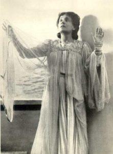 La città morta Eleonora Duse nel ruolo di Anna / Foto di scena