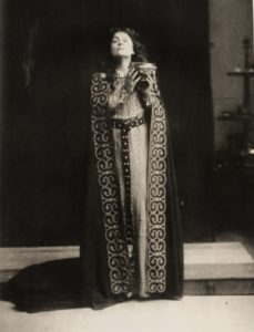 Gio Batt Sciutto Eleonora Duse in Francesca da Rimini 1903 circa Venezia Fondazione Giorgi Cini