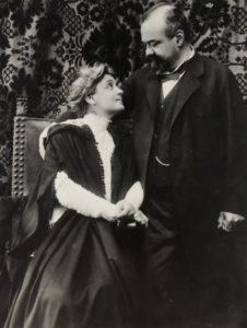 Mario Nunes Vais Eleonora Duse e Robert Mendelson 1905 circa Roma Istituto Centrale per il Catalogo e la Documentazione ICCD