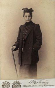 Otto Mayer Eleonora Duse in Casa di bambola 1888 circa Roma Biblioteca e Museo Teatrale del Burcardo