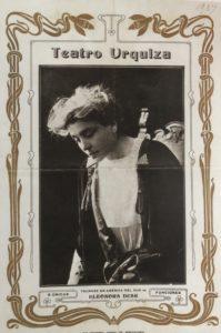 Programma del Teatro Urquiza di Montevideo 1907 Venezia Fondazione Giorgio Cini