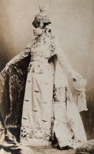 Ritratto di Eleonora Duse in Fedora 1893 circa, Roma Biblioteca e Museo Teatrale del Burcardo
