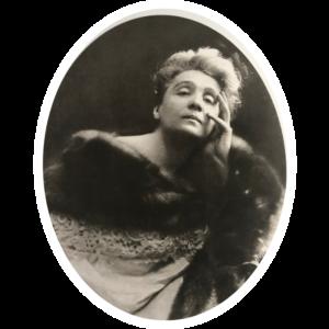 Ritratto di Eleonora Duse in Hedda Gabler 1905 circa Venezia Fondazione Giorgio Cini