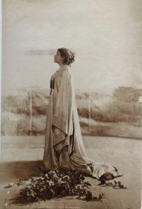 Ritratto di Eleonora Duse in La Gioconda 1899 circa Venezia Fondazione Giorgio Cini