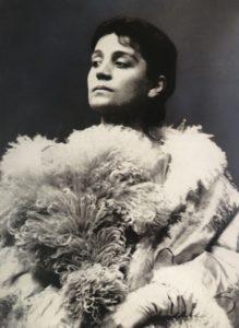 Ritratto di Eleonora Duse in La Signora dalle camelie 1890 circa Venezia Fondazione Giorgio Cini