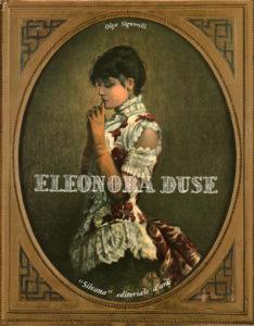 Copertina del libro di Olga Signorelli con Eleonora Duse